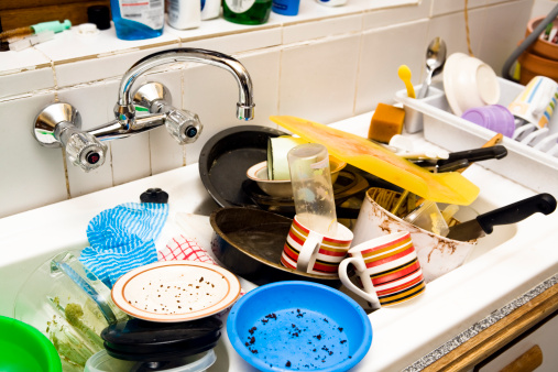 Washing Dishes「Time to wash up」:スマホ壁紙(17)