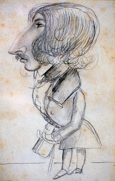 クレヨン「'Self Portrait', 1838. Artist: Alfred de Musset」:写真・画像(11)[壁紙.com]