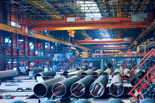 Oil Industry「Tube rolling plant for production of large pipes」:スマホ壁紙(2)
