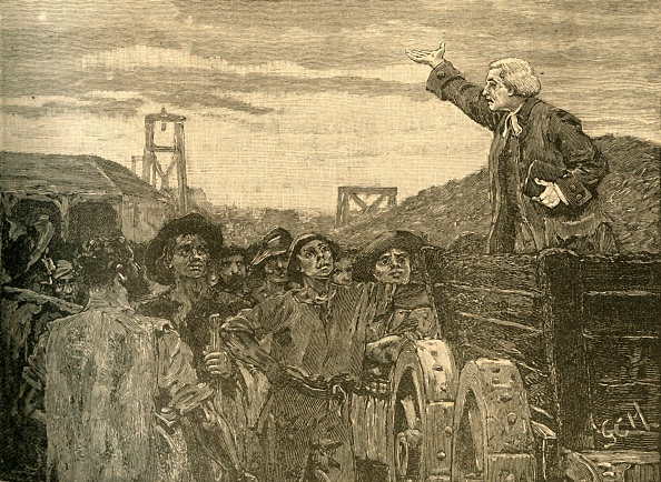 18th Century Style「Rowland Hill Preaching To The Colliers Of Kingswood」:写真・画像(7)[壁紙.com]