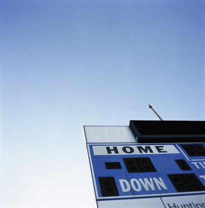 Scoreboard「Score board, close-up, low angle」:スマホ壁紙(10)