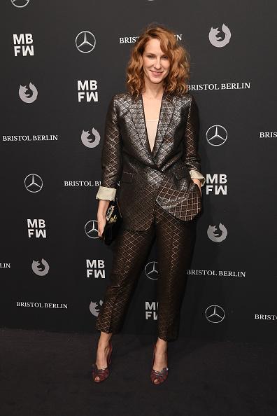 Checked Suit「Dawid Tomaszewski Arrivals - MBFW Berlin January 2018」:写真・画像(17)[壁紙.com]