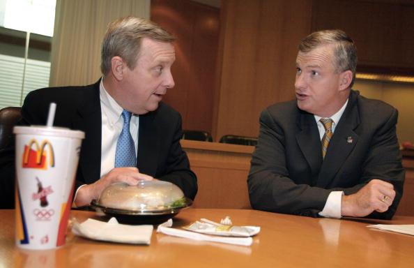 Concepts「Senator Dick Durbin Meets With McDonald's Executives」:写真・画像(10)[壁紙.com]