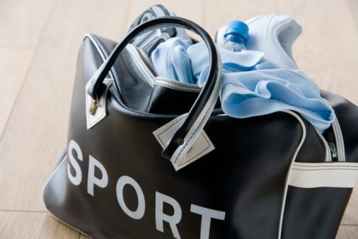 Sports Clothing「Duffel bag with sportswear」:スマホ壁紙(11)