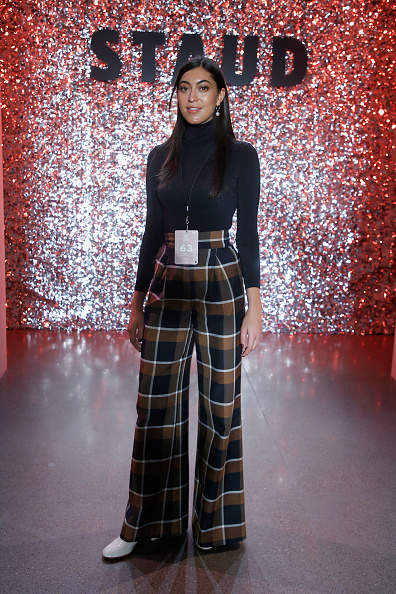 Checked Pattern「Staud - Front Row - February 2019 - New York Fashion Week: The Shows」:写真・画像(19)[壁紙.com]