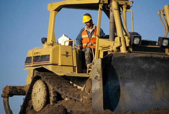 Construction Equipment「Bulldozer, Oakland, California, USA」:写真・画像(16)[壁紙.com]