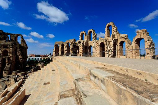 Gladiator「Roman amphitheater of El Djem Tunisia」:スマホ壁紙(15)