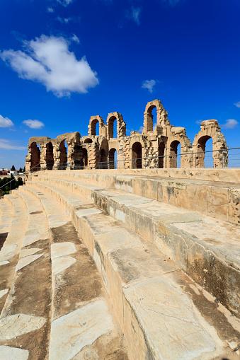 Gladiator「Roman amphitheater of El Djem Tunisia」:スマホ壁紙(14)