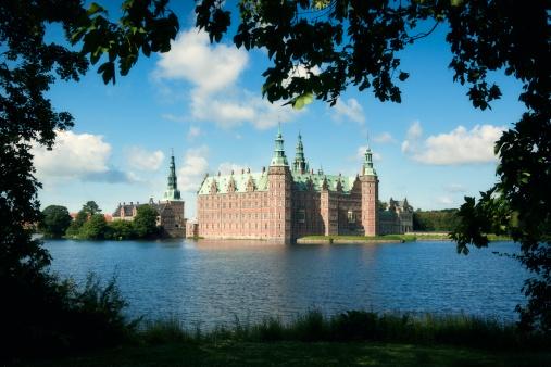 Castle「Frederiksborg Castle」:スマホ壁紙(9)