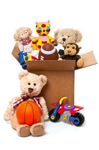 Blanket「Box Full of Toys, Donations」:スマホ壁紙(6)