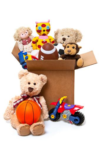 Stuffed Animals「Box Full of Toys, Donations」:スマホ壁紙(14)