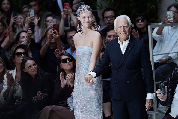 ブランド ジョルジオアルマーニ「Giorgio Armani - Runway - Milan Fashion Week Spring/Summer 2020」:写真・画像(15)[壁紙.com]