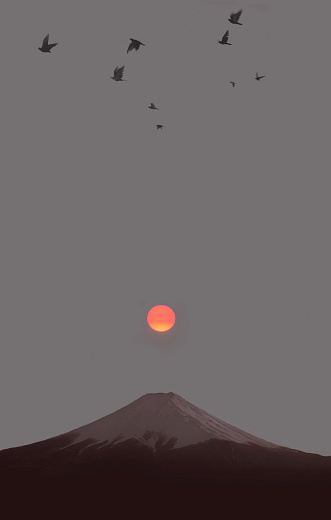 Flock Of Birds「Huge mountain.」:スマホ壁紙(5)