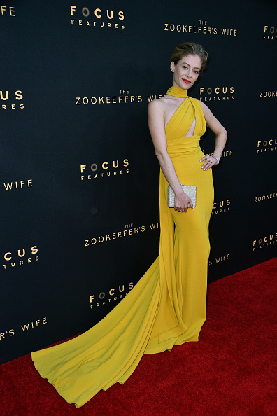 "Cuff Bracelet「Premiere Of Focus Features' ""The Zookeeper's Wife"" - Arrivals」:写真・画像(6)[壁紙.com]"