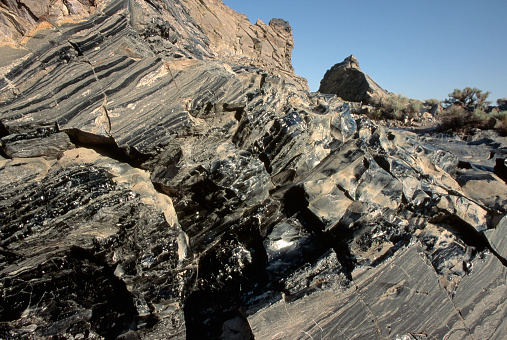 Inyo National Forest「Bands of Obsidian Volcanic Glass」:スマホ壁紙(7)