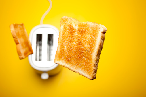 Bread「Jumping toast bread」:スマホ壁紙(4)