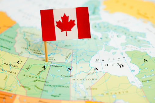 Guidance「Map and Flag of Canada」:スマホ壁紙(0)