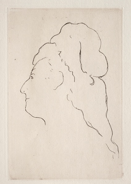 Etching「Profile Of Eva Gonzales Turned To The Left」:写真・画像(8)[壁紙.com]