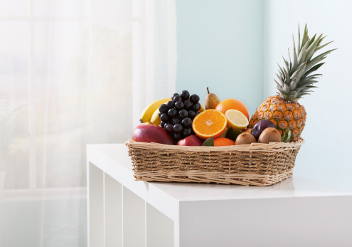 Fruit Bowl「Fruit basket with various fruits」:スマホ壁紙(4)