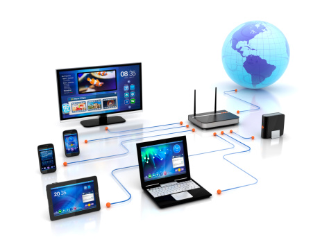 Internet「Home Solution & wifi Devices network」:スマホ壁紙(3)