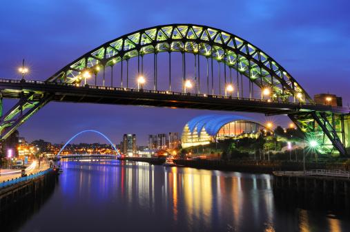 Newcastle-upon-Tyne「Tyne Bridge, Newcastle, England」:スマホ壁紙(8)