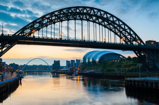 Newcastle-upon-Tyne「Tyne Bridge, Newcastle, England」:スマホ壁紙(9)