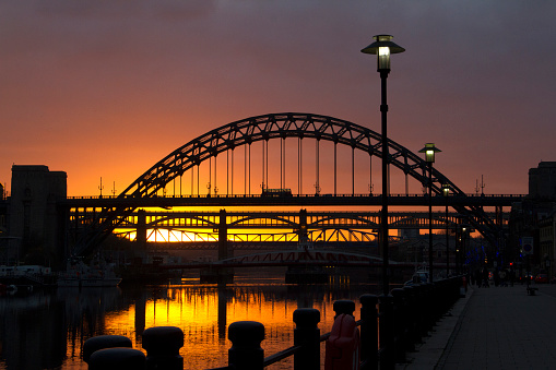 Photography「Tyne Bridge at Sunset」:スマホ壁紙(17)