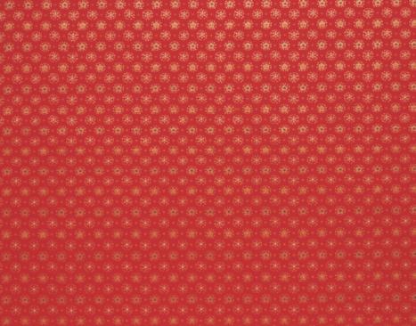 和柄「Kimono fabric,  red with gold stars」:スマホ壁紙(8)