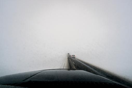 Lost「Driving in a snowstorm.」:スマホ壁紙(8)
