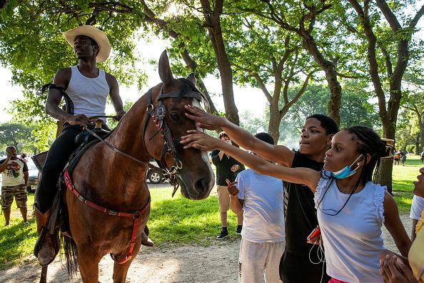 Washington Park「Juneteenth Celebrated In Cities Across America」:写真・画像(9)[壁紙.com]