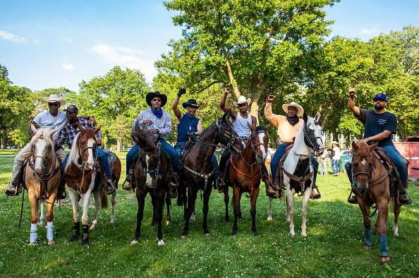 Washington Park「Juneteenth Celebrated In Cities Across America」:写真・画像(0)[壁紙.com]