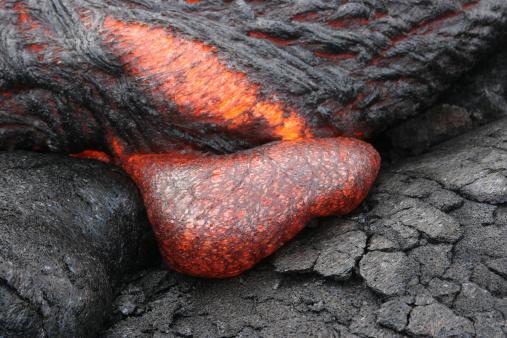Basalt「April 10, 2005 - Kilauea Pahoehoe lava flow, Big Island, Hawaii.」:スマホ壁紙(0)