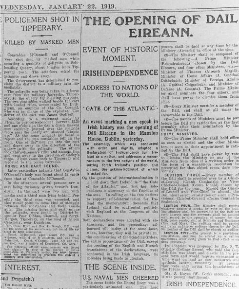 Dublin - Republic of Ireland「Dail Eireann Opens」:写真・画像(4)[壁紙.com]