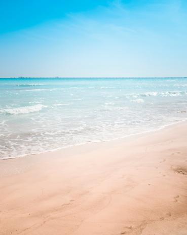 ビーチ「ブルーの海にカリブ海のビーチで夏を」:スマホ壁紙(9)