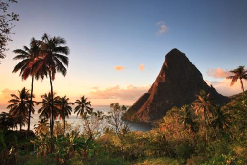 UNESCO「Caribbean, Saint Lucia, Gros Piton 」:スマホ壁紙(16)