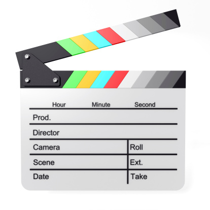 Cartoon「Color Film Slate」:スマホ壁紙(11)