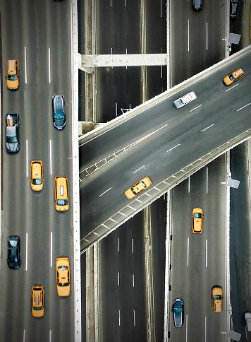 Taxi「New york highways」:スマホ壁紙(18)