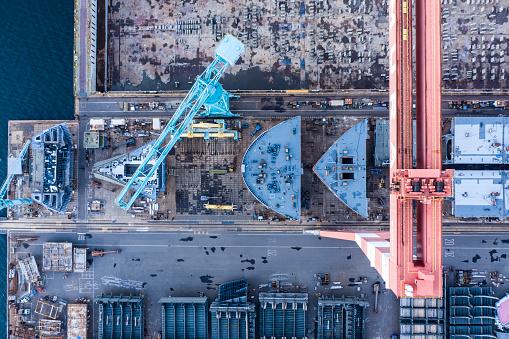 Effort「A ship is being built at the shipyard」:スマホ壁紙(3)