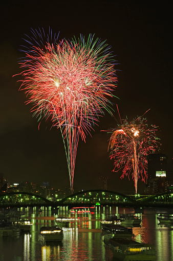 花火「Sumida Fireworks Festival Day」:スマホ壁紙(17)