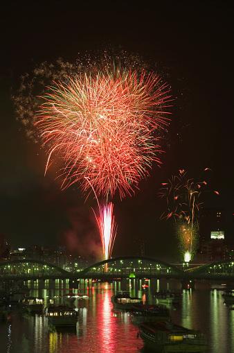 花火「Sumida Fireworks Festival Day」:スマホ壁紙(18)