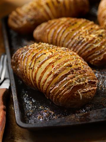 Baked Potato「Baked Hasselback Potatoes」:スマホ壁紙(5)
