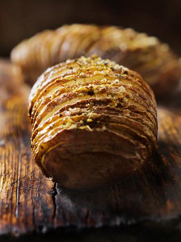 Scalloped - Pattern「Baked Hasselback Potatoes」:スマホ壁紙(5)