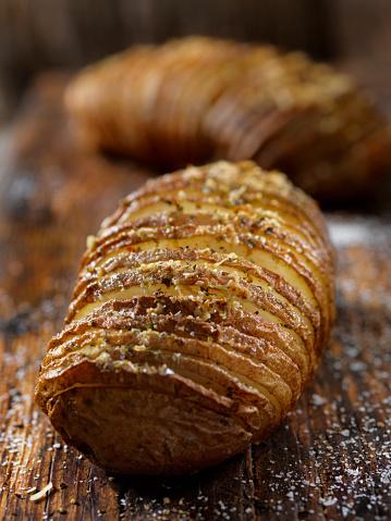 Baked Potato「Baked Hasselback Potatoes」:スマホ壁紙(13)
