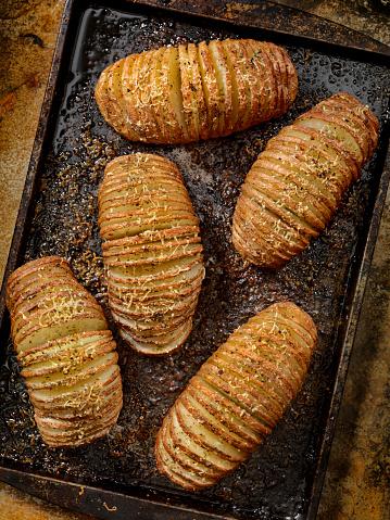 Baked Potato「Baked Hasselback Potatoes」:スマホ壁紙(15)