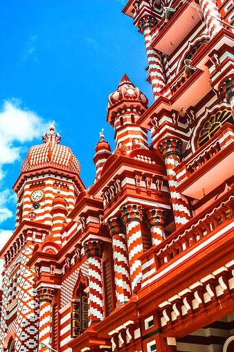 Sri Lanka「Jami Ul-Alfar Mosque (Red Masjid)」:スマホ壁紙(8)