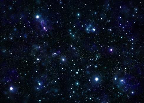 星空「広々とした鮮やかなスペース」:スマホ壁紙(15)