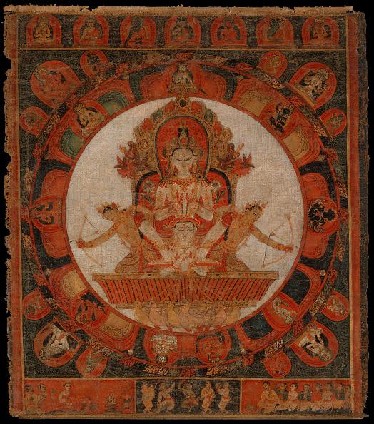 Circa 14th Century「Mandala Of Chandra」:写真・画像(8)[壁紙.com]