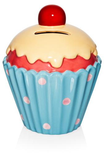 キッチュ「Porcelain cup cake money box」:スマホ壁紙(11)