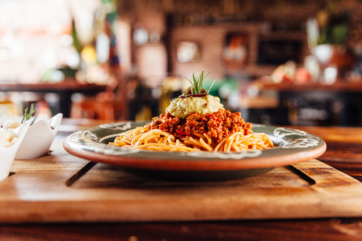 Meat「Spaghetti Bolognese」:スマホ壁紙(10)