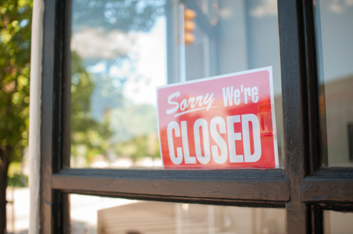 Closed「Sorry, We're Closed Sign」:スマホ壁紙(8)